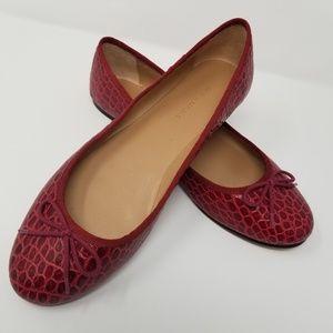 Banana Republic Red Size 10 Robin Ballet Flats